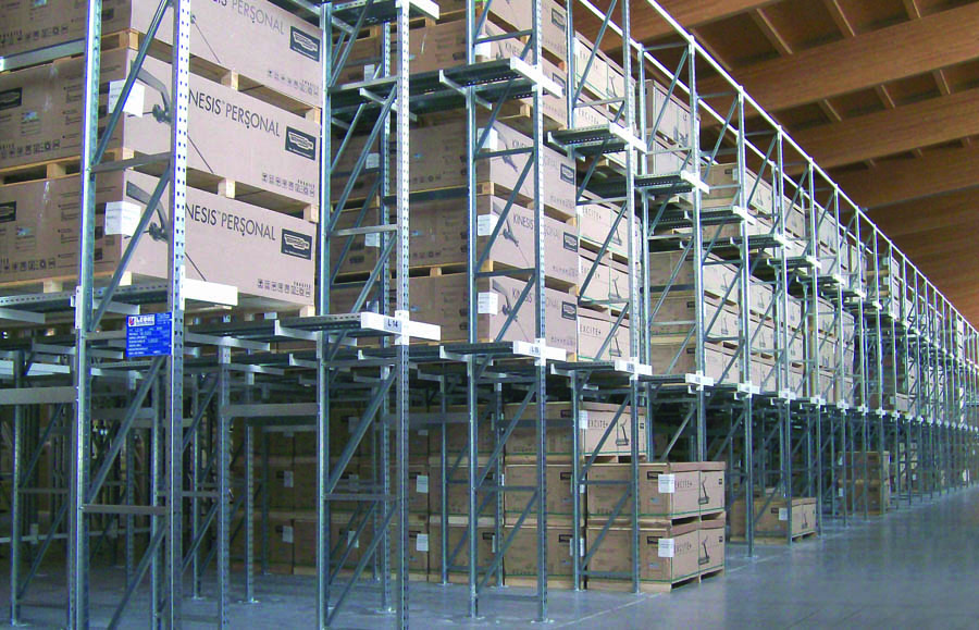 Drive In Scaffalature.Drive In Shelving Leoni Shelving